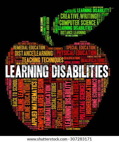 Learning Disabilities Words Indicating Special Education And Learned