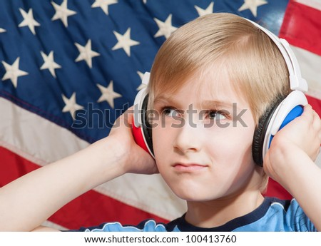 Learning language - American English (young boy)
