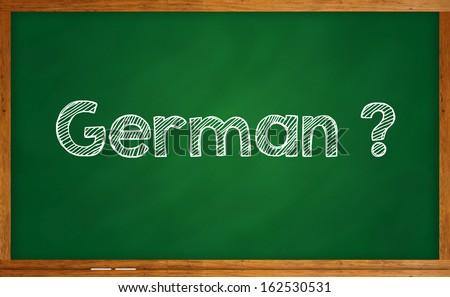 Learning language - German