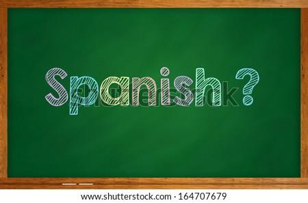 Learning language - Spanish