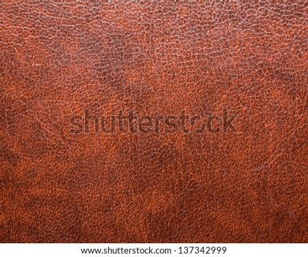 leather background, natural brown texture