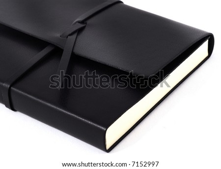 leather bound Diary / Agenda book / sketch book / planner / black book