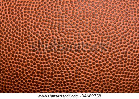 Leather football texture
