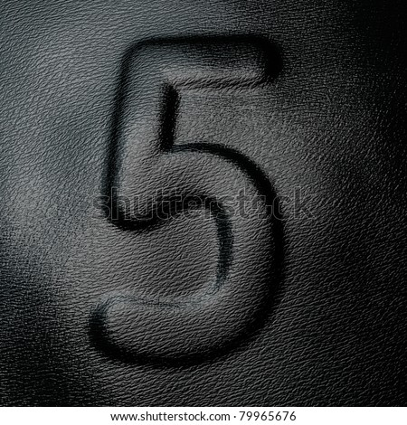 Leather  number