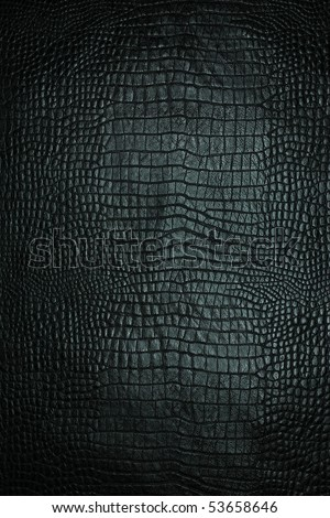 leather texture black background,crocodile leather