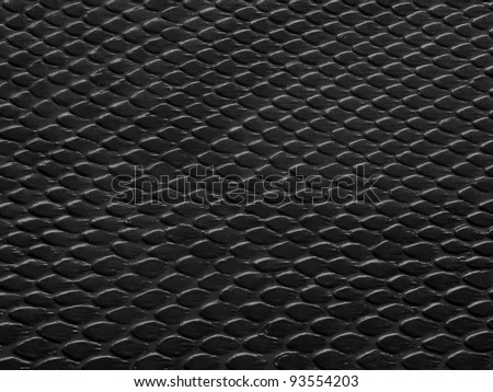 leather texture black background,snake leather