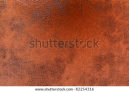 Leather texture closeup.