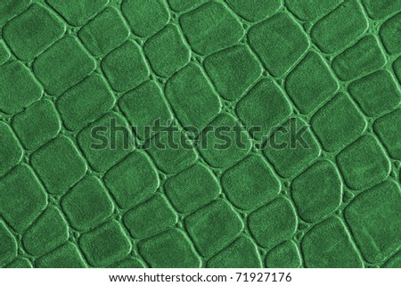 leather texture crocodile for background green