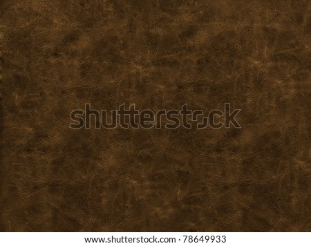 Leather texture of brown color