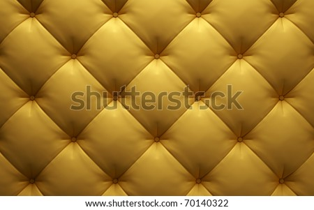 leather upholstery sofa, chair or wall - stock photo