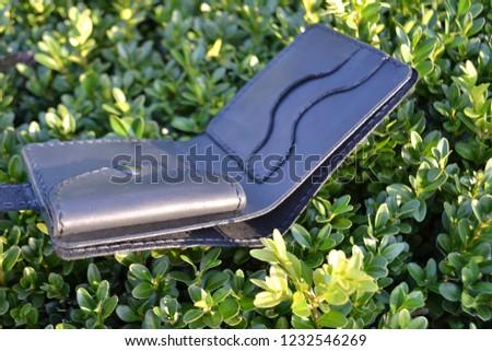 Leatherworking handmade wallet #1232546269