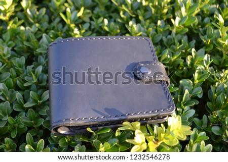 Leatherworking handmade wallet #1232546278