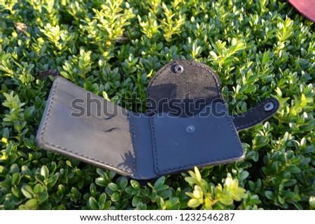 Leatherworking handmade wallet #1232546287