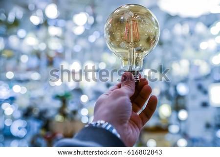 LED bulb close-up #616802843