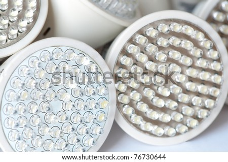 led light bulb - stock photo