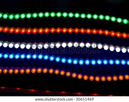 led neon threads
