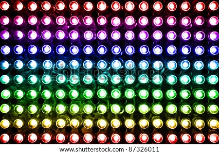 led rainbow lighting bulb pattern #87326011