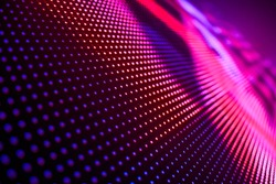 LED soft focus background
