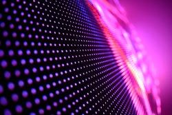 LED soft focus background