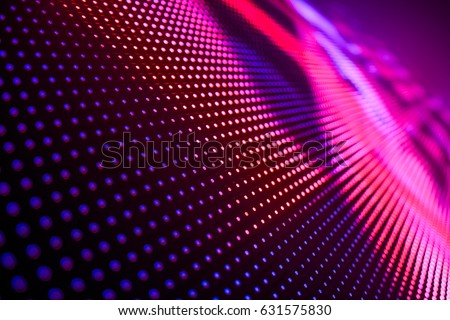Photo of  LED soft focus background