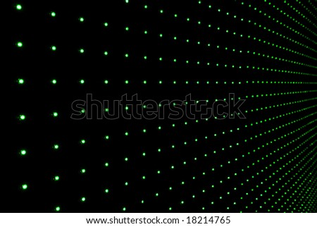 LED wall background