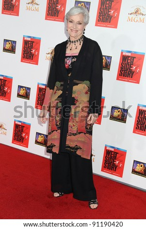 Lee Merriweather at the West Side Story 50th Anniversary Screening, Chinese Theater, Hollywood, CA 11-15-11
