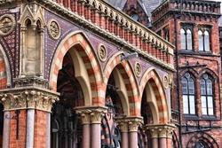 Leeds - city in West Yorkshire, UK. Leeds General Infirmary hospital.