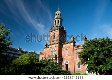 Leeds – 31 July 2017 : Clothworkers Centenary Concert Hall, University of Leeds music department Stock photo ©