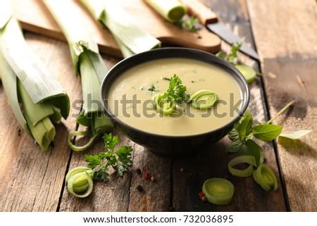 leek soup Сток-фото ©
