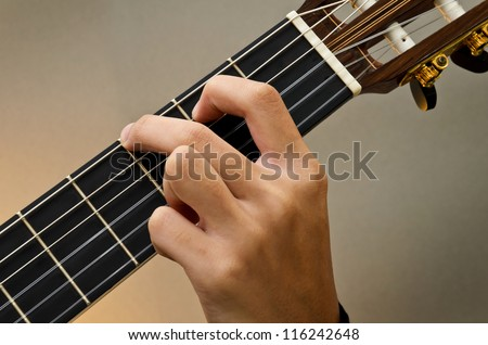 Basic Guitar Chords Pictures Hands