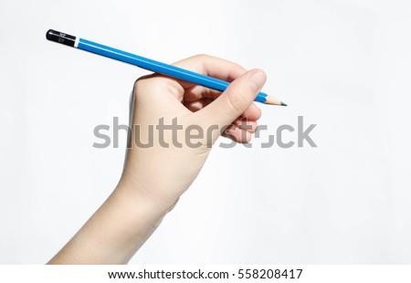 Left hand writing #558208417
