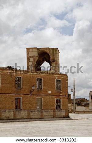 Left monastery Foto stock ©
