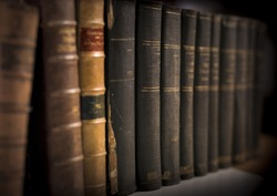 legal books background