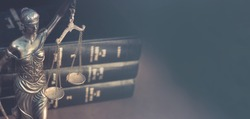Legal law concept image horizontal banner style.