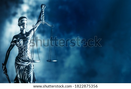 Legal law concept image Scales of Justice. ストックフォト ©