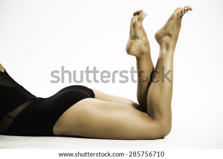 legged beautiful woman
