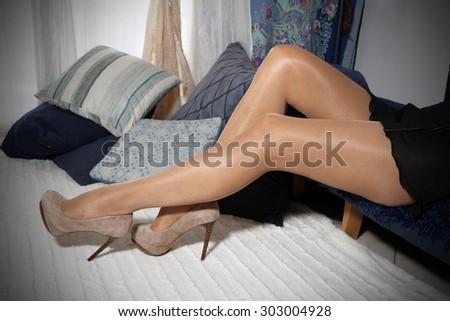 Жены в колготках фото