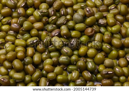 Legume family Lentils, Chickpeas, Dahl or Dall Photo stock ©