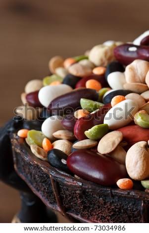 Legumes close-up. - stock photo