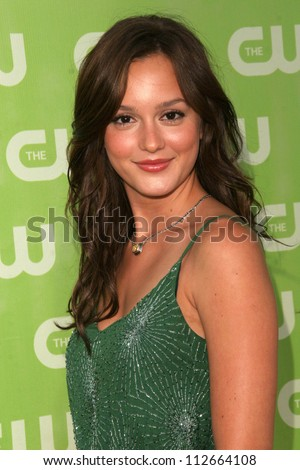 Leighton Meester at the CW Summer 2007 TCA Press Tour. Pacific Design Center, Los Angeles, CA. 07-20-07