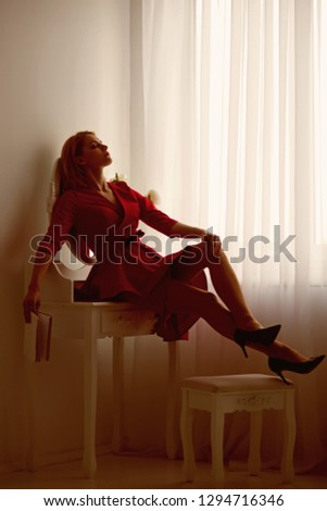 leisure and relax. leisure and relax of sexy tired woman in bedroom. time to relax and have leisure time. leisure and relax of tired businesswoman reading book. enjoying day at home