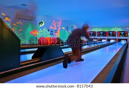 Leisure center -  bowling  good relax