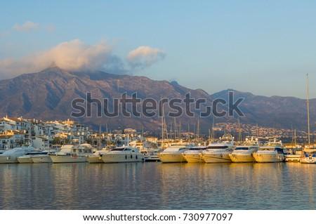 Leisure Port of Banus, Andalusia, Spain #730977097