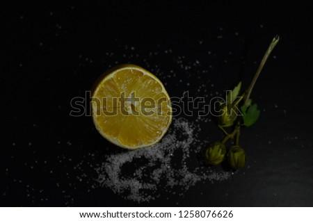 lemon and sugar composition #1258076626