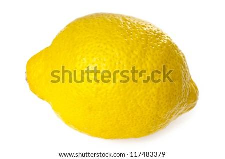 Lemon closeup