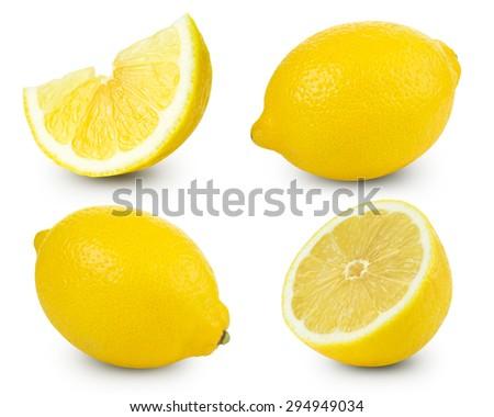 lemon fruits collection...