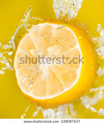 lemon in water #228087637