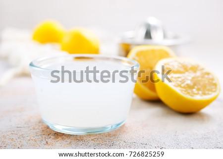 lemon juice #726825259
