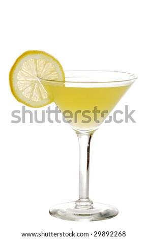 Lemon martini