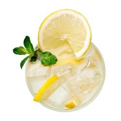 Lemonade, top view